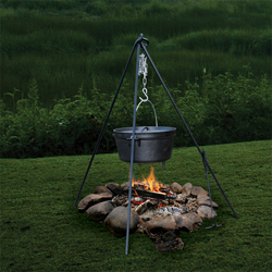 Outdoor Cooking with Tripod
